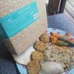 Falafel shawarma, Falafel, shawarma, everdine, food box